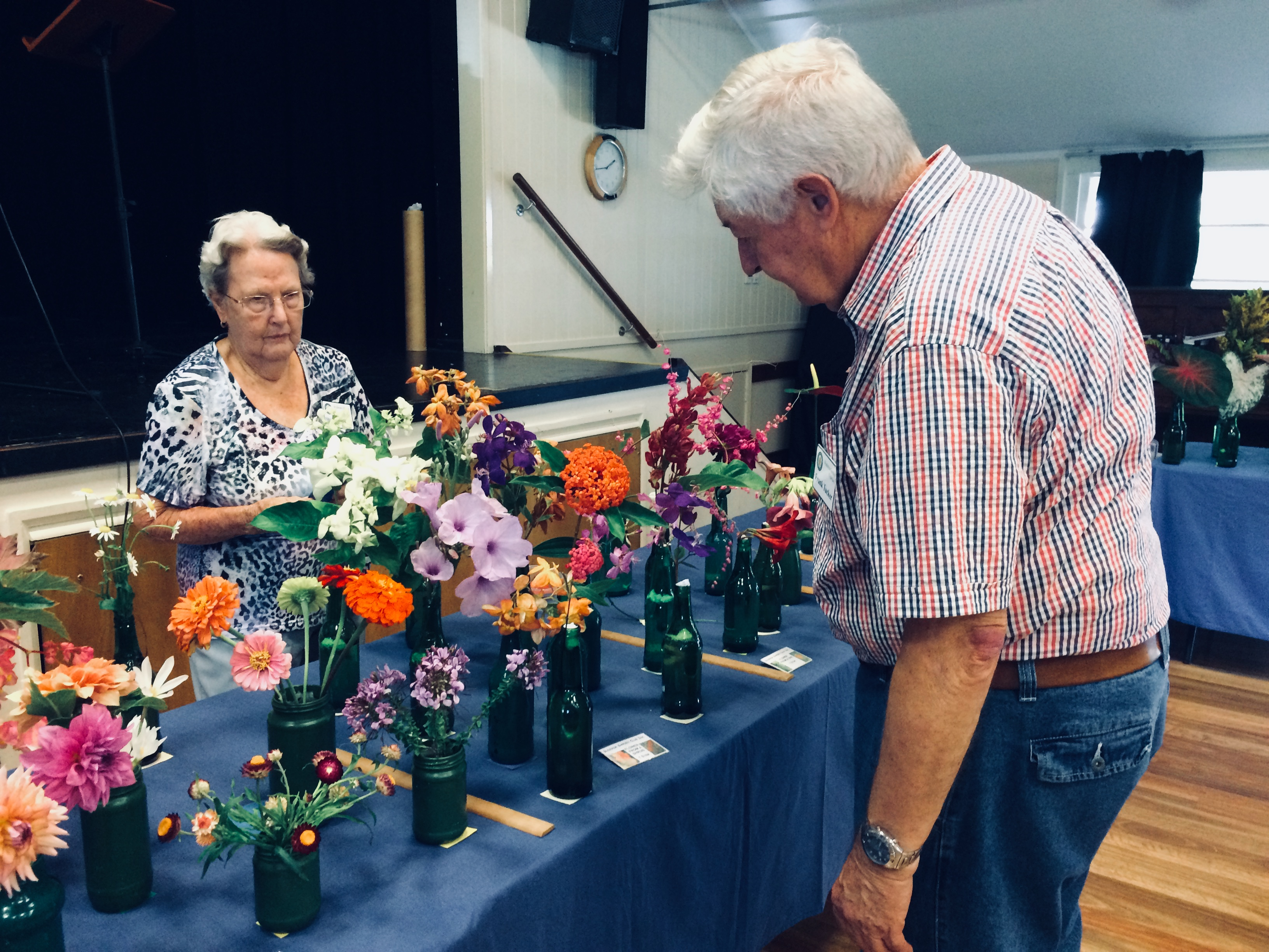 Cut Flower competition